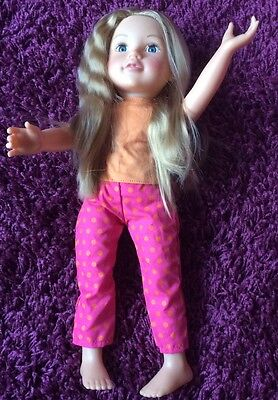 Designa Friend Collection Pink & Orange Pyjamas - Doll Not Included