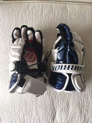 Warrior Burn lacrosse gloves