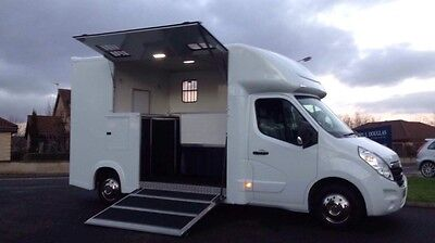 61Plate Vauxhall Movano 3.5Ton 2Stalls New Build Day Living
