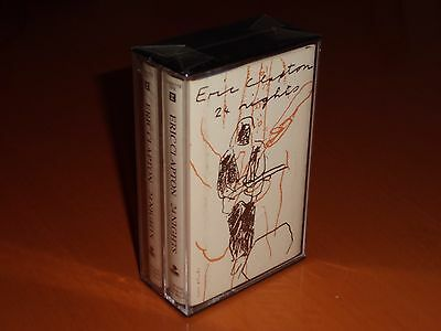 """Eric Clapton """"24 Nights"""" Live Double Cassette Tape Germany 1991 Rare! New!"""