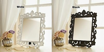 Vintage Ornate Dressing Table Mirror with plastic frame Classic Look in Room