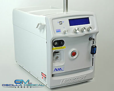 2002 Laserscope Aura i Nd:YAG Compact Laser KTP 532nm Vascular Lesion Acne Veins