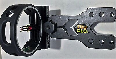 TRUGLO 3 Pin Dial Sight for Compound Bows Part of Martin Family Collection