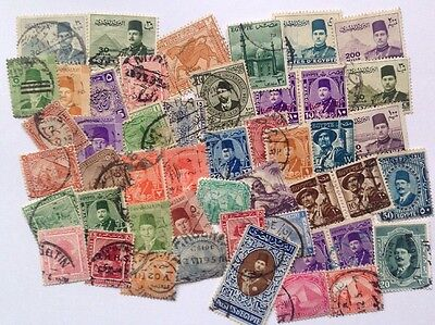 COMMONWEALTH- EGYPT (2) Used Collection Over 50 Stamps