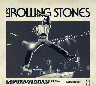 Les Rolling Stones French Book ! Brand New| Written By Glenn Crouch