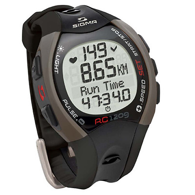 Sigma Running Computer Heart Rate Monitor Watch Sport Fitness RC 1209 25102