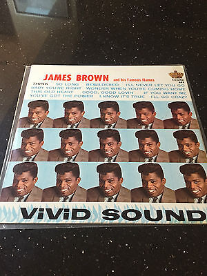 JAMES BROWN - THINK! - KING 683 Hi Fidelity - Re-issue cover