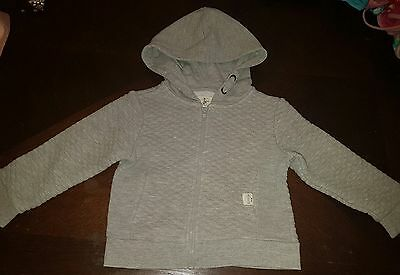 boys river island 18-24 months hoodie jumper jacket spring clothes zipped next