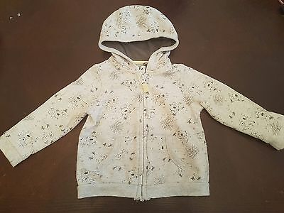 boys 9-12 months hoodie top jumper jacket coat spring clothes coala zipped next