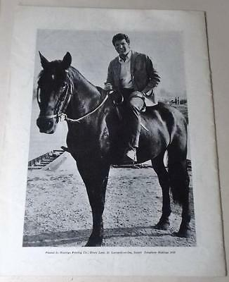 Tom Jones 1967 tour programme with Kathy Kirby Ted Heath Orchestra