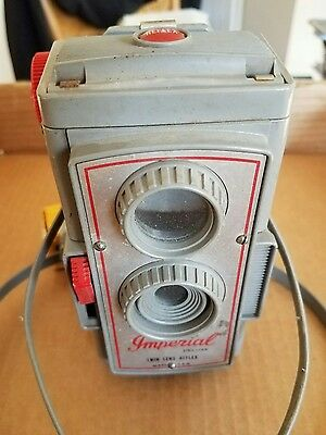 Vintage Imperial Six Twenty Twin Lens Reflex Camera Made In The Usa