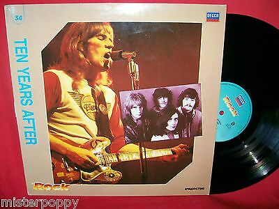 TEN YEARS AFTER rare PROMO only LP ITALY Unique Art Cover MINT