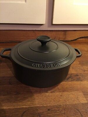 Chasseur Cast Iron Casserole Pot. Cooking. Roasting, French. Not Le Creuset.