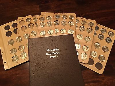 COMPLETE Kennedy Half Dollar Collection, 1971 to 2017, XF - BU in Dansco album