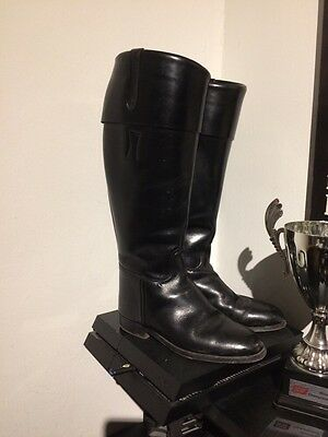 Regent Leather Riding Boots