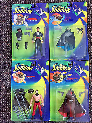 The Shadow – Set Of Four New In Package Vintage Action Figures – Kenner 1994