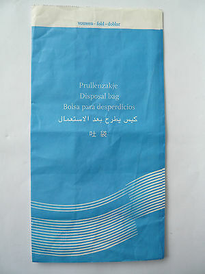 KLM Air Sickness Bag