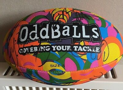 One Off Odd Balls Ball Signed By All Of Warrington Wolves Team