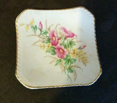 Adderley Floral bone China plate