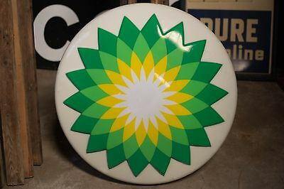 BP Gas Station Lighted Sign 3'