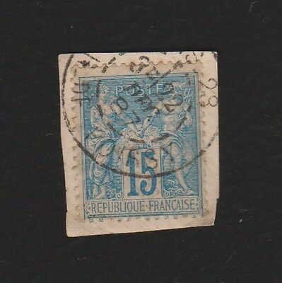 *FRANCE*    Peace & Commerce,  15c,  Used