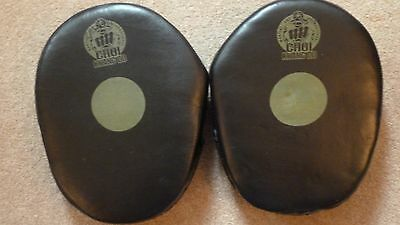 Choi Kwang Do Leather Focus Mitts / Pads martial arts pads