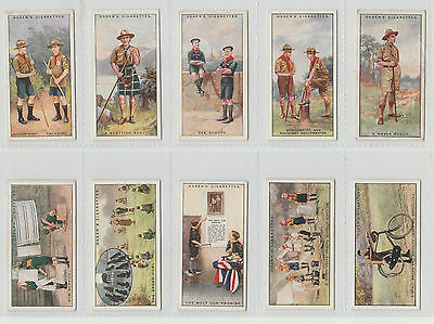 37 OGDENS CARDS: BOY SCOUTS (Different) 1929