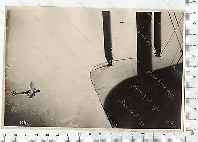 401/1 ww1 photo france front british tank airplane somme arras champagne