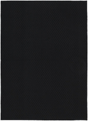 Garland Rug Town Square Area Rug, 5-Feet by 7-Feet, Black