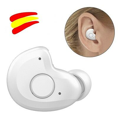 AngLink mini Auricular Bluetooth 4.1,Manos Libres in-ear con Micrófono . blanco