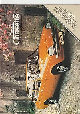 Vauxhall Chevette Brochure April 1981