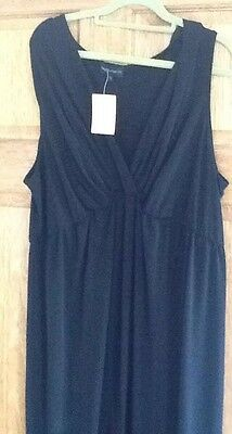 New Next Maternity All In One Jumpsuit Day Evening Very Comfortable New Black
