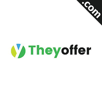 NO RESERVE: TheyOffer.com 2 WORD Premium Domain Name - Appraisal: $820