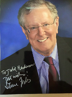 6x4 Hand Signed Photo of USA Republican Politician Steve Forbes