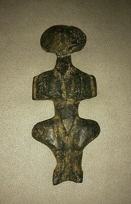 Extremely rare antique figure, stone, mother godess, Europe.