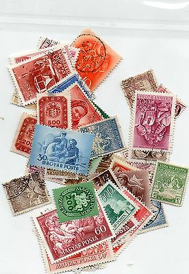 Selection of Stamps of Hungary 50+