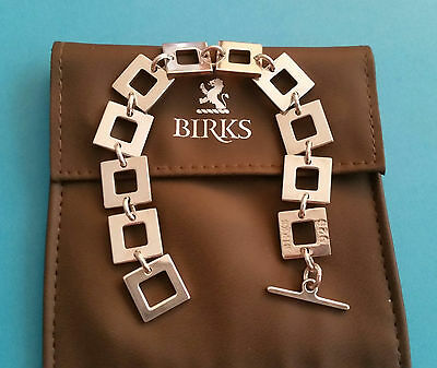 Birks Urban™ Collection 925 Sterling Silver Toggle Bracelet