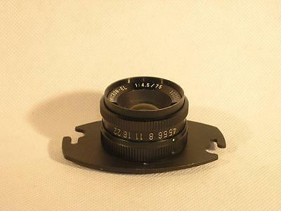Omicron-EL 75mm F4.5 Enlarging Lens For Up To 6x6 Negatives *FREE USA SHIPPING*