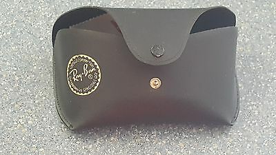 Ray-Ban Black Leather soft Sunglasses Case Only