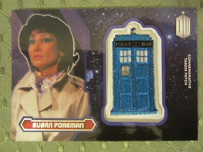 2015 Topps Doctor Who Susan Foreman Tardis Patch