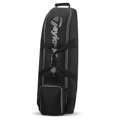 Taylormade Golf Travel Club Bag Cover, Black/Grey - NEW