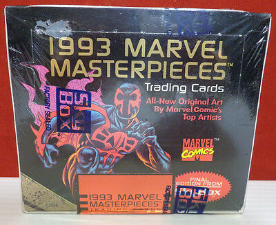 1993 Marvel Masterpieces Trading Cards by Skybox 1993 Factory SEALED