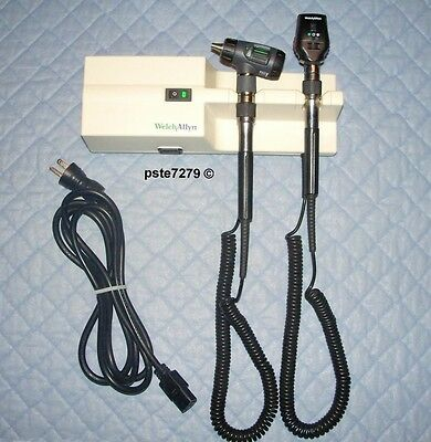 Welch Allyn 767; 76710 Diagnostic Set With 23810 Otoscope 11720 Ophthalmoscope