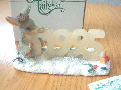 """Charming Tails Silvestri """"binkey's 1995 Ice Sculpture"""" Dean Griff Mouse - New"""