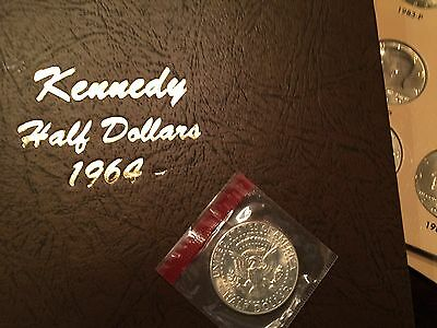 COMPLETE KENNEDY HALF DOLLAR COLLECTION, 1970D - 2017, XF - BU in Dansco album