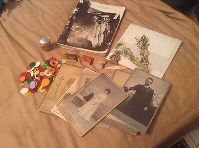 Mixed lot of collectables items photocards, wade, tin, ww2 book etc