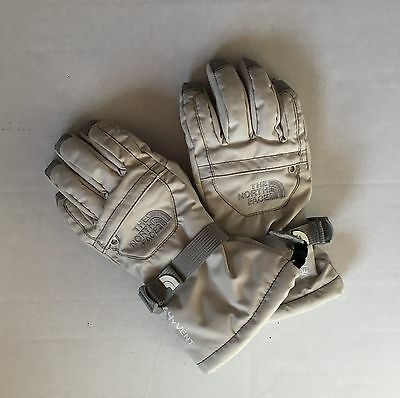 The North Face HyVent Girls Ivory Gloves Small 7/8