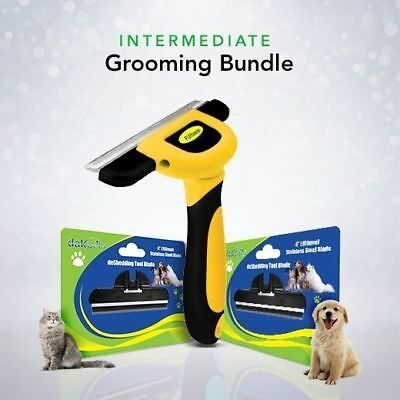 DakPets Intermediate Pet Groomer Bundle Dogs Cats DIY Pet Grooming Comb Supplies