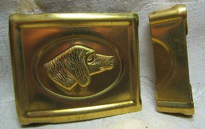 Indian Wars REPRODUCTION State Belt Buckle by Anson Mills