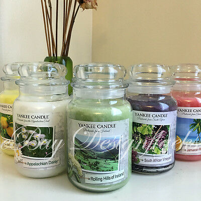 YANKEE CANDLE - Post Card Collection - *FREE SHIPPING* 22oz Large Jar